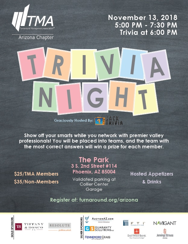 Trivia Night @ The Park | Phoenix | Arizona | United States
