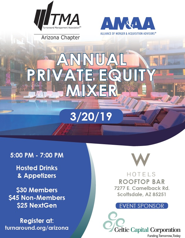 Annual Private Equity Mixer @ W Hotels Rooftop Bar